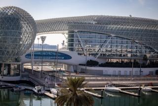 Las fotos del test de Fernando Alonso en Abu Dhabi - Miniatura 14
