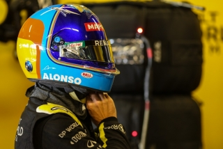 Las fotos del test de Fernando Alonso en Abu Dhabi - Miniatura 28