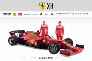 Las fotos del Ferrari SF21 de F1 2021 - Miniatura 1
