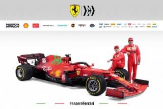 Las fotos del Ferrari SF21 de F1 2021 - Miniatura 2