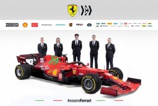 Las fotos del Ferrari SF21 de F1 2021 - Miniatura 3