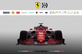 Las fotos del Ferrari SF21 de F1 2021 - Miniatura 5