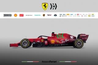 Las fotos del Ferrari SF21 de F1 2021 - Miniatura 7