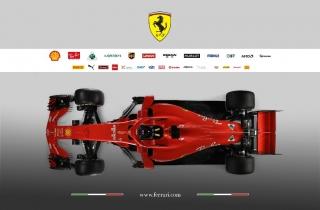 Foto 1 - Fotos Ferrari SF71H F1 2018