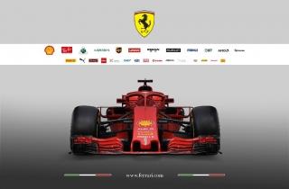 Foto 2 - Fotos Ferrari SF71H F1 2018