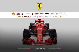 Foto 3 - Fotos Ferrari SF71H F1 2018