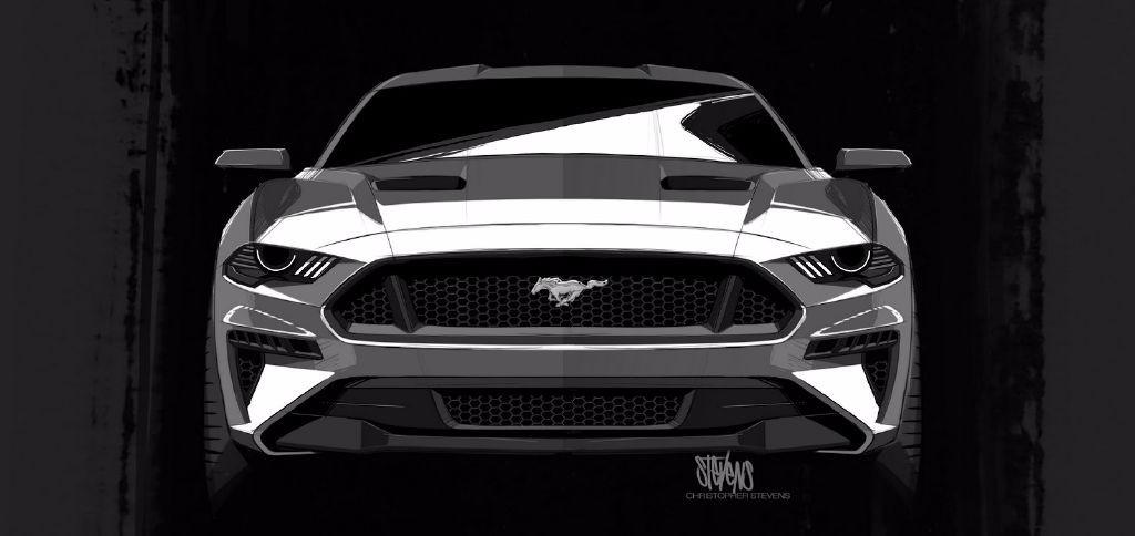 Nascar Ford Mustang 2018