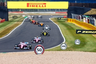 Las fotos del GP del 70º Aniversario F1 2020 Foto 49