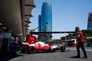 Las fotos del GP de Azerbaiyán F1 2021 - Miniatura 25