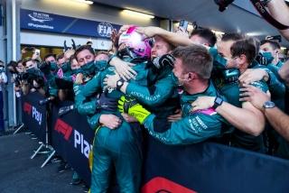 Las fotos del GP de Azerbaiyán F1 2021 - Miniatura 47