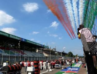 Las fotos del GP de Italia F1 2020