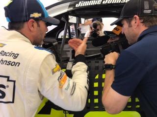 Fotos Fernando Alonso y Jimmie Johnson NASCAR vs F1 - Miniatura 3
