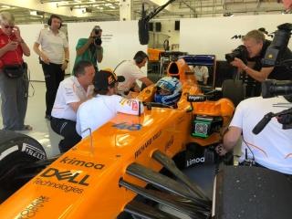 Fotos Fernando Alonso y Jimmie Johnson NASCAR vs F1 Foto 5