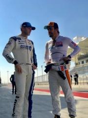Fotos Fernando Alonso y Jimmie Johnson NASCAR vs F1 Foto 6