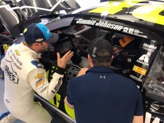Fotos Fernando Alonso y Jimmie Johnson NASCAR vs F1 - Miniatura 8