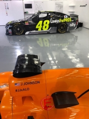 Fotos Fernando Alonso y Jimmie Johnson NASCAR vs F1 Foto 9