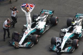 Fotos Lewis Hamilton Campeón del Mundo F1 2017 Foto 12