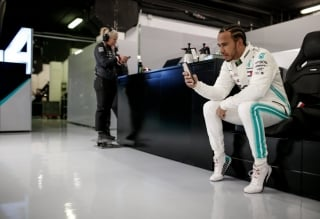 Foto 1 - Fotos Lewis Hamilton F1 2019