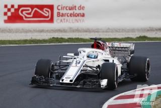 Fotos Marcus Ericsson F1 2018 Foto 3