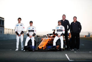 Fotos McLaren MCL33 F1 2018 - Miniatura 22
