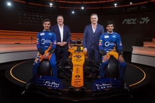 Fotos McLaren MCL34 F1 2019 Foto 14