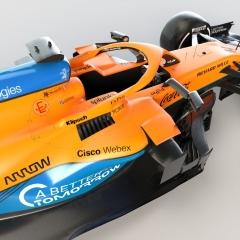 Las fotos del McLaren MCL35M de F1 2021