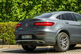 Fotos Mercedes GLC 220 d 4MATIC Coupé Foto 24