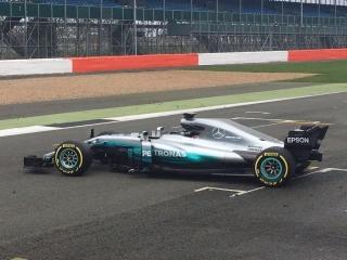 Fotos Mercedes W08 F1 2017 Foto 12