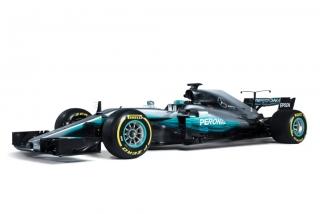 Fotos Mercedes W08 F1 2017 Foto 16