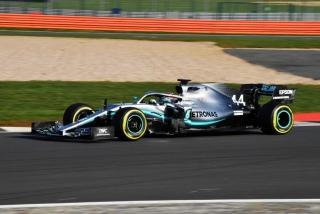Fotos Mercedes W10 F1 2019 Foto 12