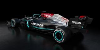 Las fotos del Mercedes W12 de F1 2021