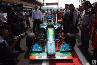 Fotos Mick Schumacher Benetton B194 F1 Bélgica Foto 13