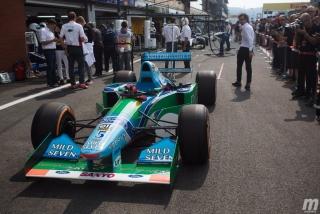 Foto 3 - Fotos Mick Schumacher Benetton B194 F1 Bélgica