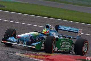Foto 1 - Fotos Mick Schumacher Benetton B194 F1 Bélgica