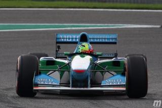 Fotos Mick Schumacher Benetton B194 F1 Bélgica Foto 18
