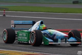 Fotos Mick Schumacher Benetton B194 F1 Bélgica Foto 19