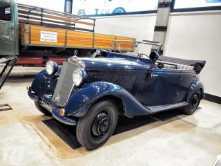 Fotos Museo Aguinaga de clásicos Mercedes-Benz Foto 9