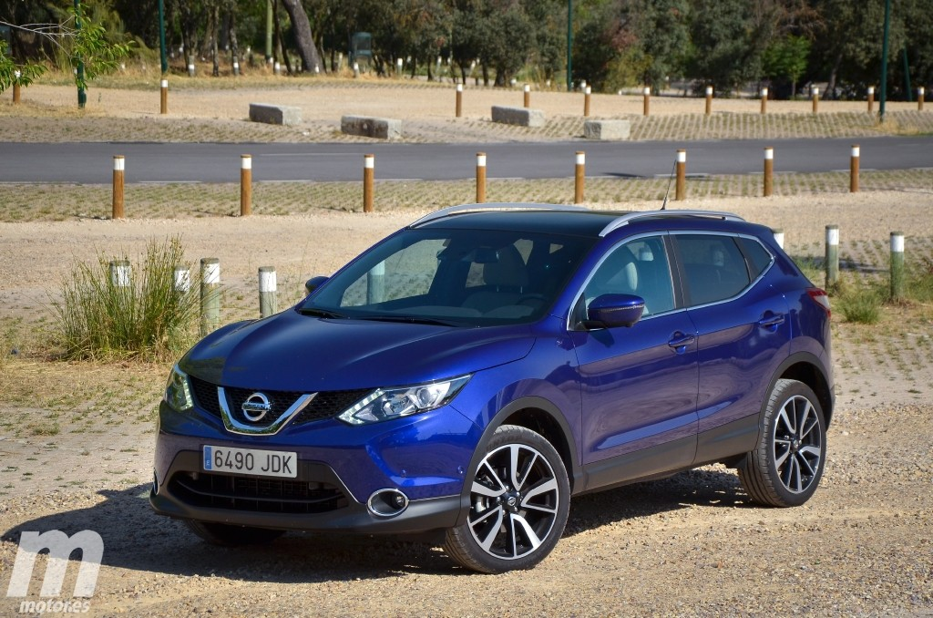 fotos nissan qashqai 1 6 dig t 163 cv. Black Bedroom Furniture Sets. Home Design Ideas