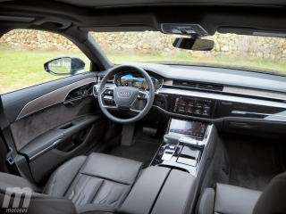 Fotos prueba Audi A8 2018 Foto 24
