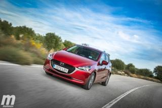 Fotos prueba Mazda2 2020