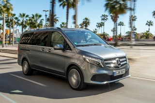 Fotos prueba Mercedes Clase V 2019 - Foto 1