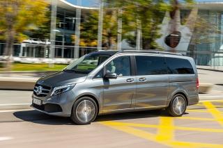 Fotos prueba Mercedes Clase V 2019 - Foto 3