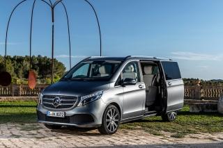 Fotos prueba Mercedes Clase V 2019 Foto 10