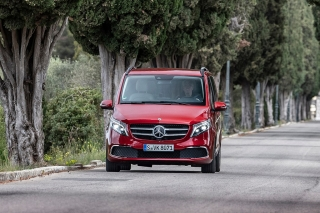Fotos prueba Mercedes Clase V 2019 Foto 13