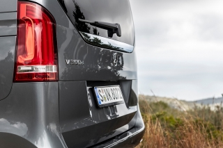Fotos prueba Mercedes Clase V 2019 Foto 16