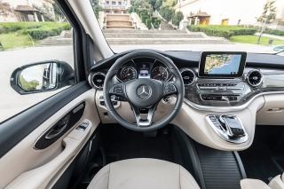 Fotos prueba Mercedes Clase V 2019 Foto 20