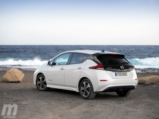 Fotos prueba Nissan Leaf 2018 Foto 2