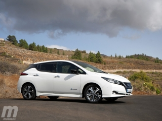 Fotos prueba Nissan Leaf 2018 Foto 9