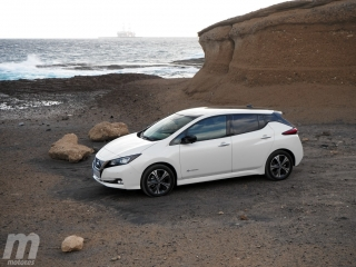 Fotos prueba Nissan Leaf 2018 Foto 14