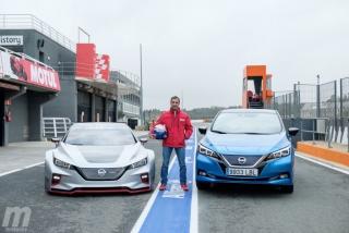 Fotos prueba Nissan Leaf Nismo RC_02 en Ricardo Tormo - Miniatura 13
